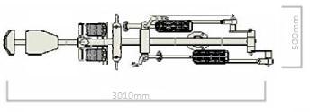 Όργανο εκγύμνασης διπλό PCD 01