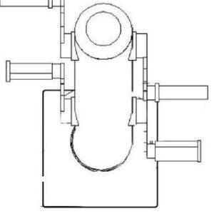 Όργανο εκγύμνασης διπλό PCD 08