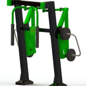 Όργανο εκγύμνασης με μεταβλητό βάρος Pec Fly – Ωμοπλάτη
