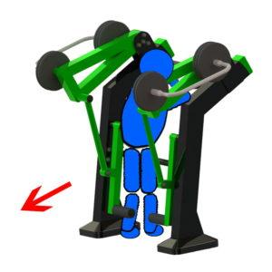 Όργανο εκγύμνασης με μεταβλητό βάρος Calf – Γάμπες
