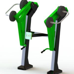 Όργανο εκγύμνασης με μεταβλητό βάρος Pull Up – Πιέσεων ώμων