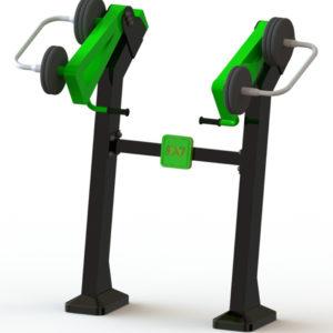 Όργανο εκγύμνασης με μεταβλητό βάρος Push Up – Πίεσης χεριών