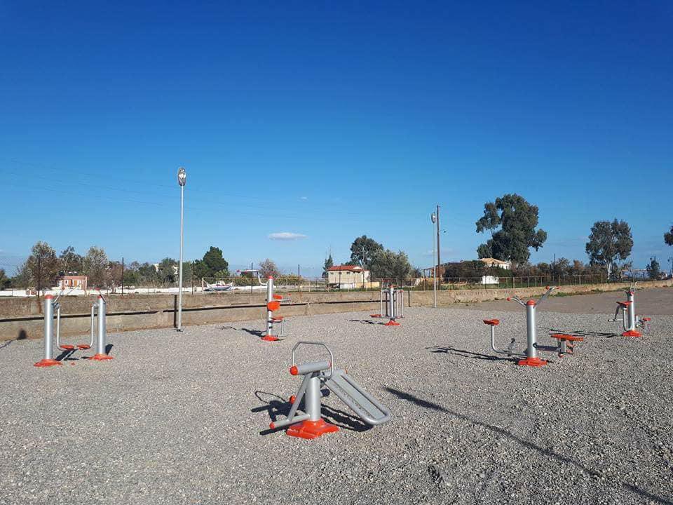Διαμόρφωση υπαίθριου αθλητικού χώρου στην Πλάκα Λεωνιδίου