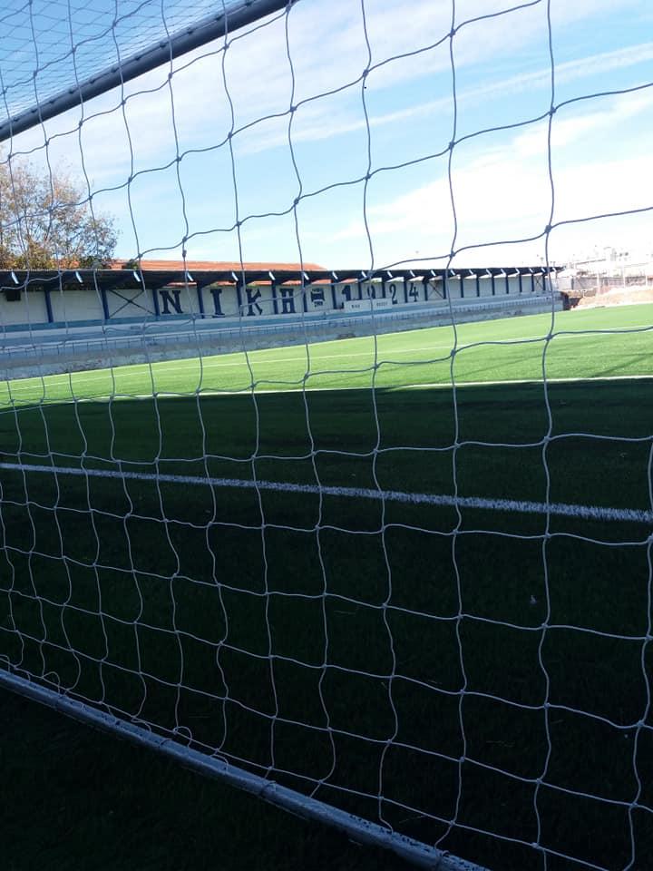 Προμήθεια και Τοποθέτηση συνθετικού τάπητα στο γήπεδο ποδοσφαίρου της Νίκης Βόλου «Παντελής Μαγουλάς»