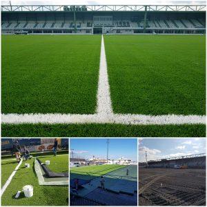 Read more about the article Προμήθεια και Τοποθέτηση συνθετικού χλοοτάπητα σε γήπεδα ποδοσφαίρου στην Κρήτη