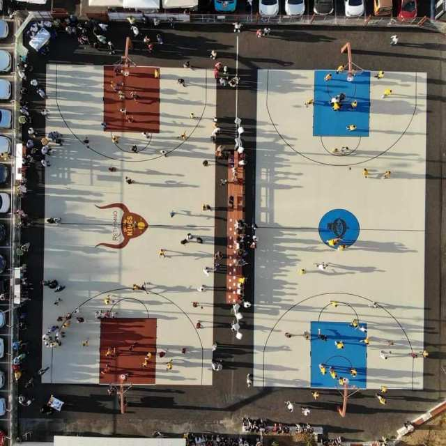 Κατασκευή ανοικτών γηπέδων μπάσκετ στο Ρέθυμνο