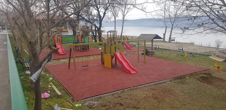 Κατασκευή παιδικής χαράς στο Κιλκίς